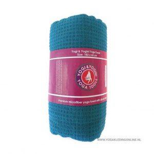 Yogi&Yogini Yoga Handdoek  - Blauw