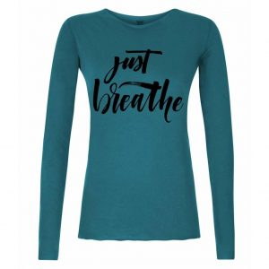 Urban Goddess Yoga Shirt Just Breathe - Stardust