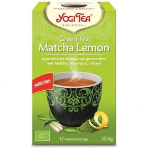 Yogi Tea Green Tea Matcha Lemon