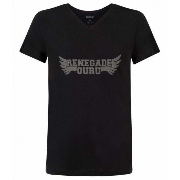 Renegade Guru Yoga Shirt Moksha - Urban Black