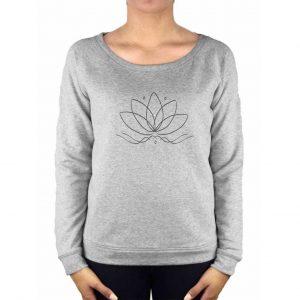 Anoona Yoga Trui Nova Lotus - Grey