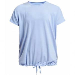 Rohnisch Yoga Shirt Hatha Loose Tee - Light Blue