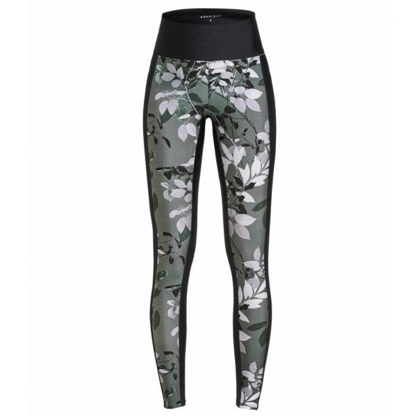 Rohnisch Yoga Legging Combat - Green Leaves