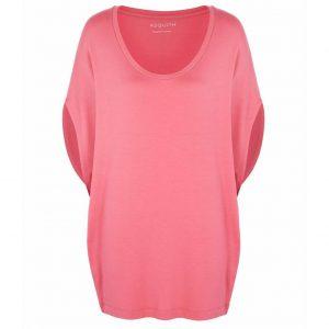 Asquith Yoga Shirt Scoop Batwing - Flamingo