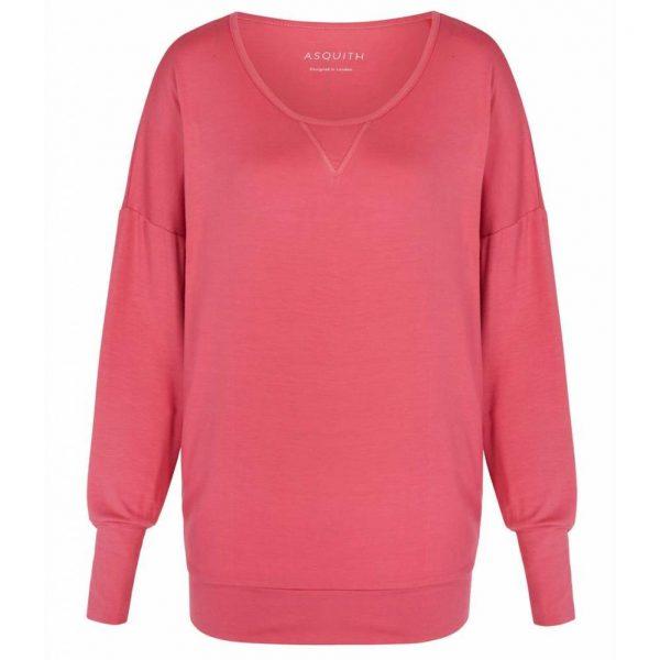 Asquith Yoga Shirt Batwing - Flamingo