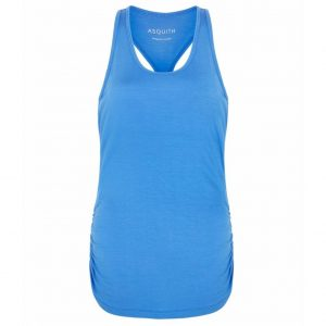 Asquith Yoga Top Chi Racerback - Blue Splash