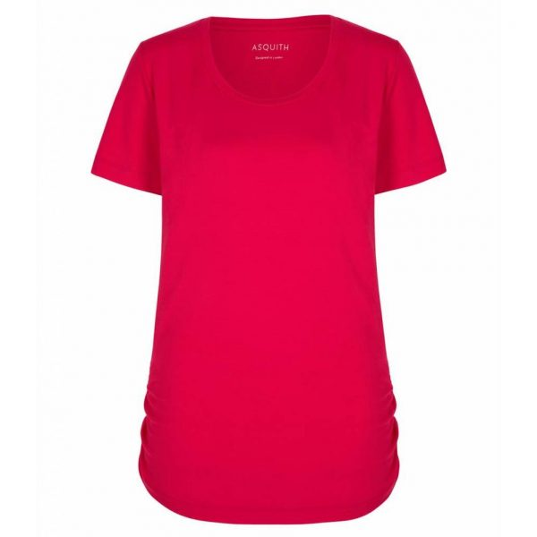 Asquith Yoga Shirt Bend It? Sunset Pink