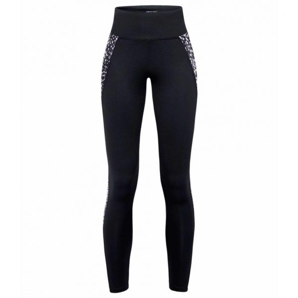 Rohnisch Yoga Legging Cire Cut - Black Dot