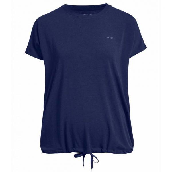 Rohnisch Yoga Shirt Hatha Loose Tee - Indigo Night
