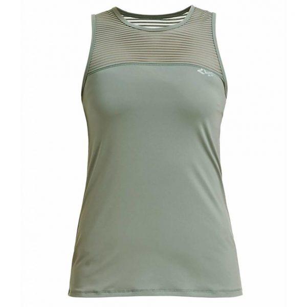 Rohnisch Yoga Top Miko - Combat Green
