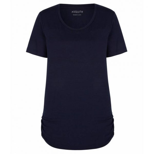 Asquith Yoga Shirt Bend It? Navy