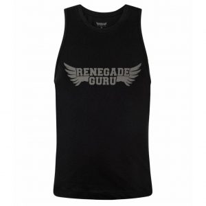 Renegade Guru Yoga Tank Top Moksha - Urban Black