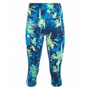 Urban Goddess Yoga Legging Satya Capri - Emerald