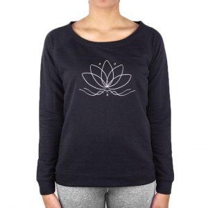 Anoona Yoga Trui Nova Lotus - Black