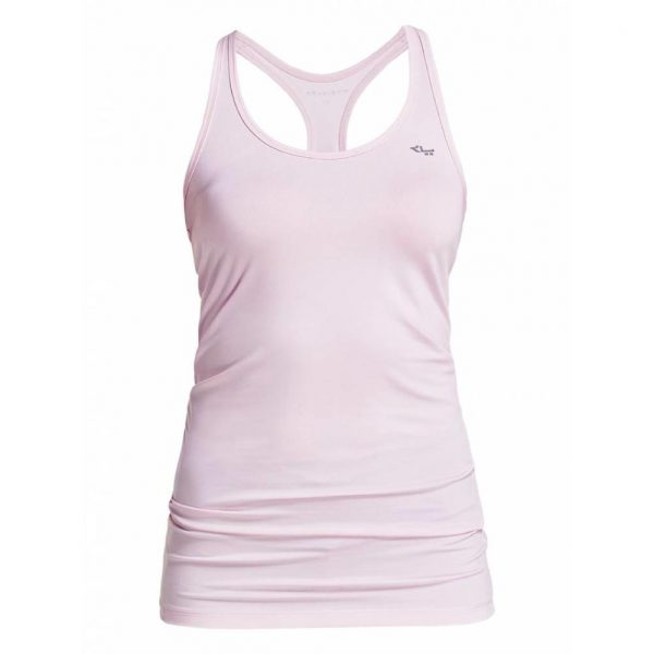 Rohnisch Yoga Top Long Racerback - Cherry Blossom