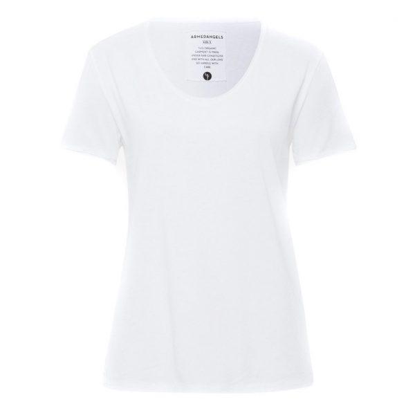Armedangels Yoga Shirt Hedi? White
