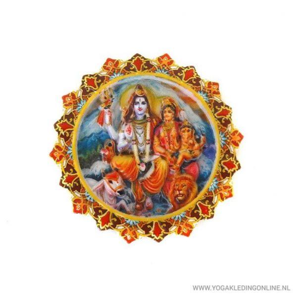 Yogi&Yogini Magneet - Shiva's (set van 3)