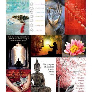 By Badu Ansichtkaarten Zen - Set van 10