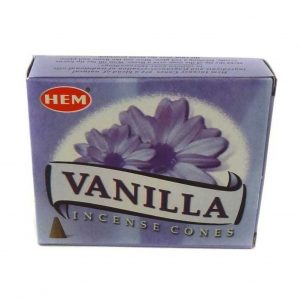 HEM Incense Wierook Kegeltjes Vanilla