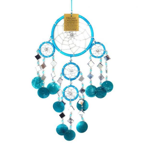 YogaStyles Dromenvanger Turquoise 50 cm - Schelp