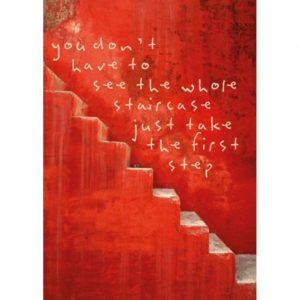 By Badu Ansichtkaart Staircase