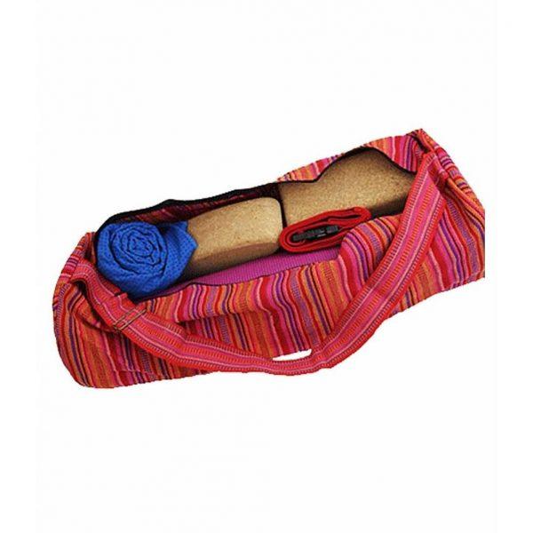 Yogi&Yogini Yogamat Tas XL - Multicolor Roze/Rood