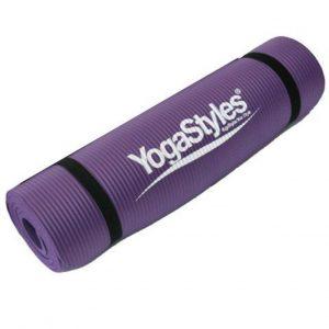 YogaStyles Yoga Mat Extra Dik - 10 mm Hatha/Meditatie/Yin