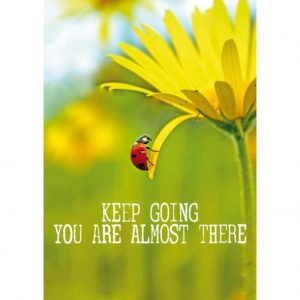 By Badu Ansichtkaart Keep Going