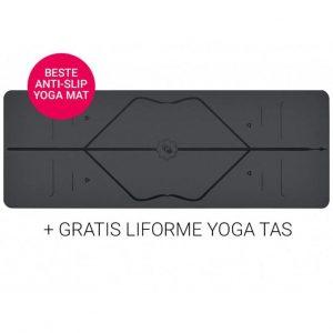 Liforme Yoga Travel Mat Super Grip Grey 2 mm