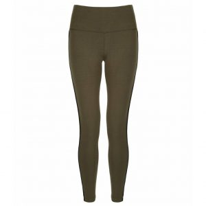 Asquith Yoga Legging Flow With It - Khaki/Jet Black