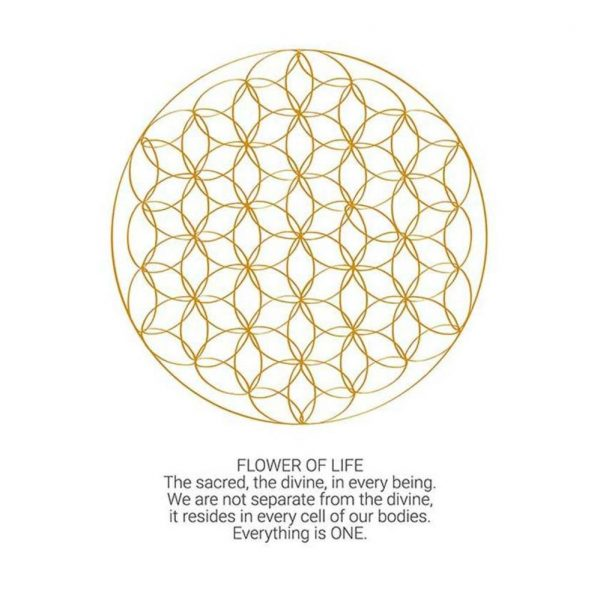 Anoona Ansichtkaart - Flower Of Life