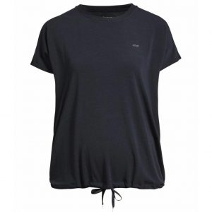Rohnisch Yoga Shirt Hatha Loose Tee - Black