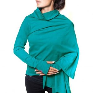 Urban Goddess Yoga Vest Wrap me Up - Midnight Sky