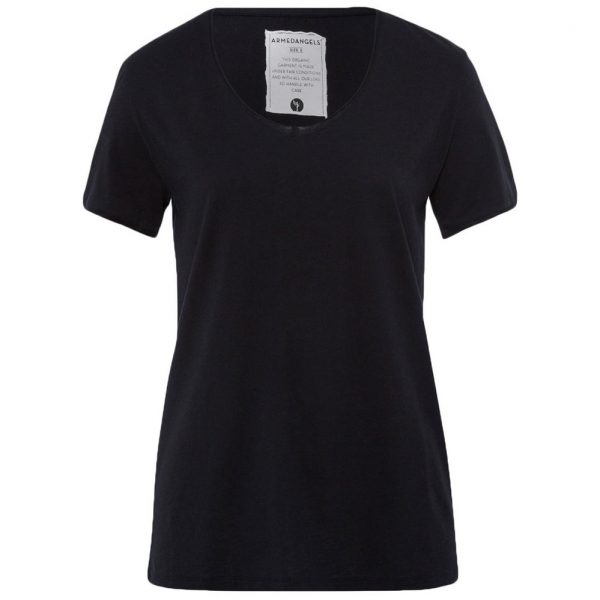 Armedangels Yoga Shirt Hedi - Black