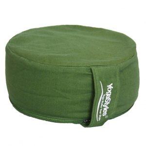 YogaStyles Meditatiekussen Comfort Groen 15x32cm