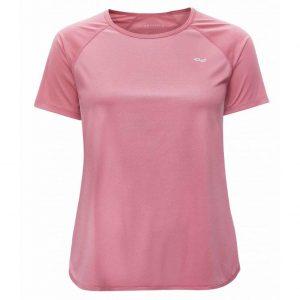 Rohnisch Yoga Shirt Comfy Tee - Pink Dot Embossed