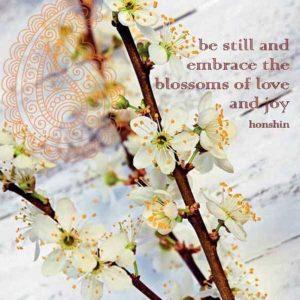 By Badu Wenskaart Blossoms