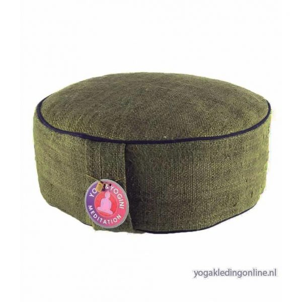 Yogi&Yogini Meditatiekussen Hennep Groen