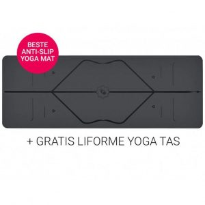Liforme Yoga Mat Super Grip Grey 4