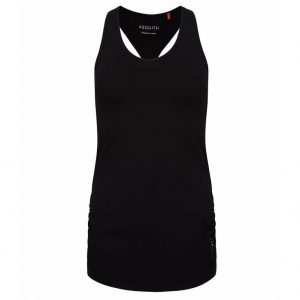 Asquith Yoga Top Chi Racerback - Jet Black