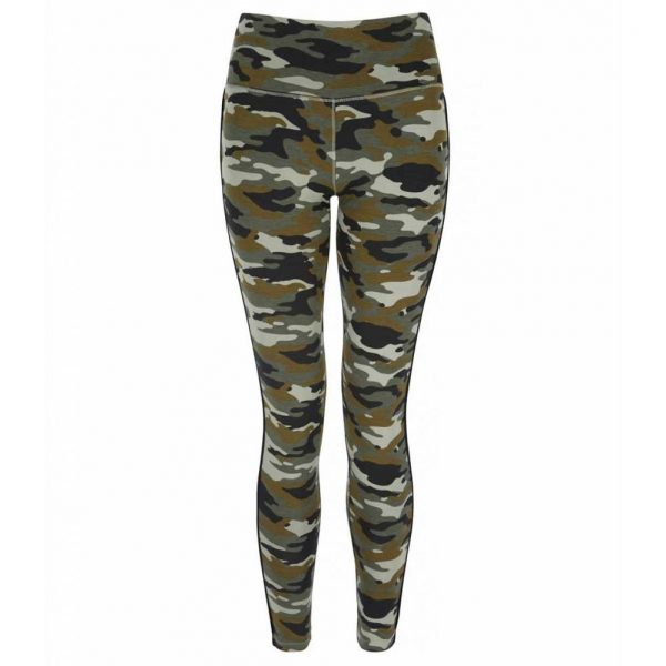 Asquith Yoga Legging Flow With It - Camouflage/Jet Black