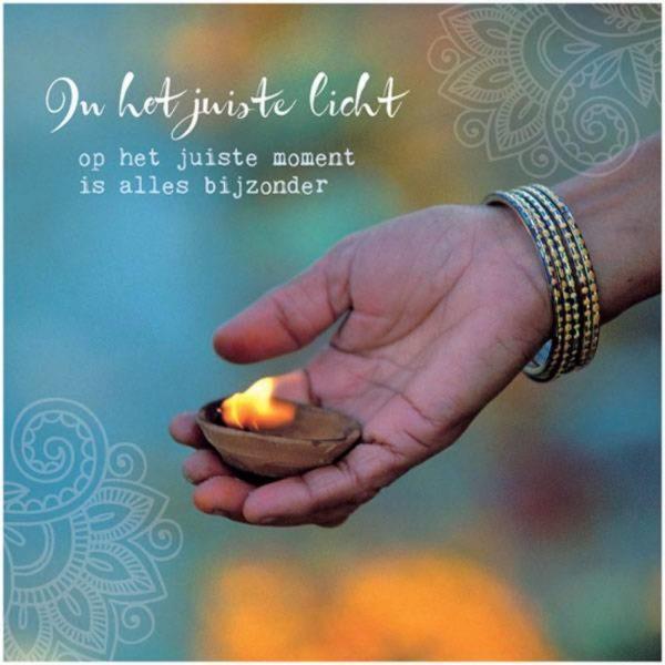By Badu Wenskaart Juiste Licht