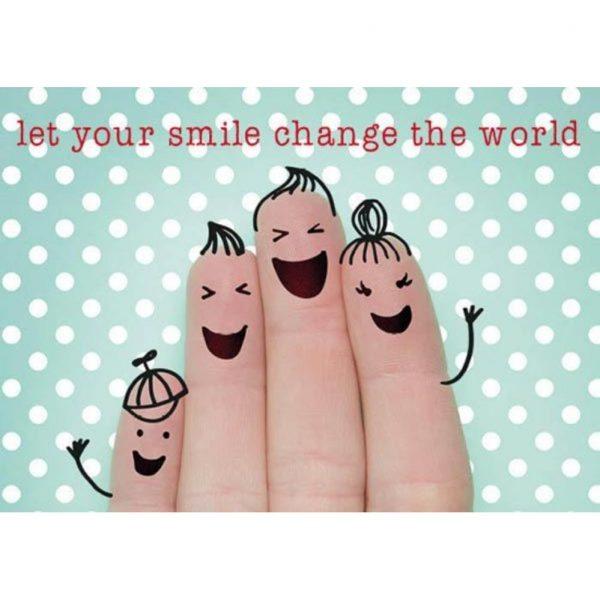 By Badu Ansichtkaart Smile