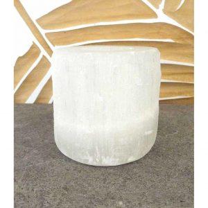 Yogi&Yogini Sfeerlicht - Seleniet - Devine Cylinder