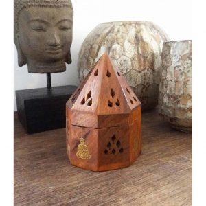 YogaStyles Kegel Wierookbrander - Piramide Boeddha