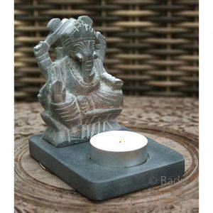 Yogi&Yogini Kaarsenhouder Ganesha