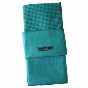YogaStyles Hot Yoga Handdoek EKO? Turquoise