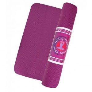 Yogi&Yogini Yoga Mat Basic 5 mm - Aubergine