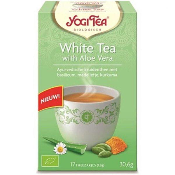 Yogi Tea White Tea Aloe Vera