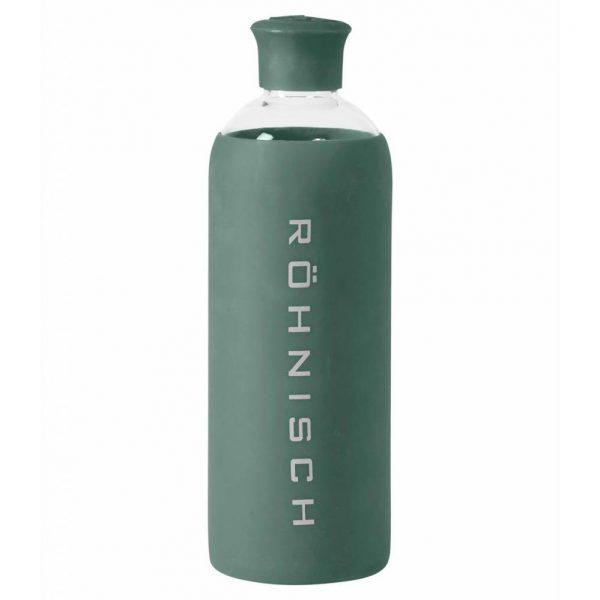 Rohnisch Yoga Drinkfles Glas - Combat Green - 550ml